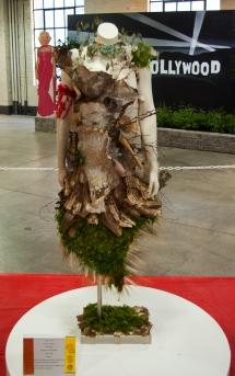Flower Show 6 bark and moss dress