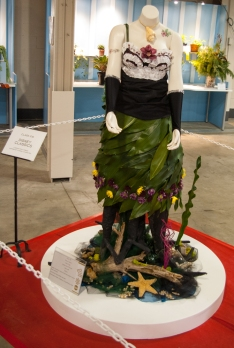 Flower Show 7 palm leaf dress